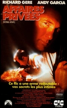Internal Affairs - French VHS movie cover (xs thumbnail)
