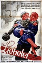 Liebelei - German Movie Poster (xs thumbnail)