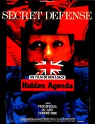 Hidden Agenda - French Movie Poster (xs thumbnail)