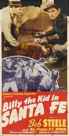 Billy the Kid in Santa Fe - Movie Poster (xs thumbnail)
