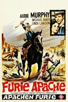 Apache Rifles - Belgian Movie Poster (xs thumbnail)