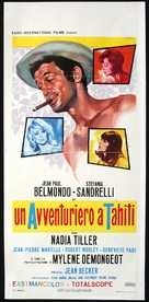 Tendre voyou - Italian Movie Poster (xs thumbnail)