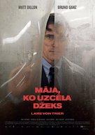 The House That Jack Built - Latvian Movie Poster (xs thumbnail)