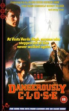 Dangerously Close - British VHS cover (xs thumbnail)
