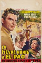 Fièvre monte à El Pao, La - Belgian Movie Poster (xs thumbnail)