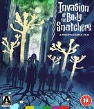 Invasion of the Body Snatchers - British Blu-Ray movie cover (xs thumbnail)