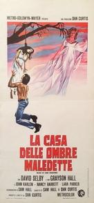 Night of Dark Shadows - Italian Movie Poster (xs thumbnail)