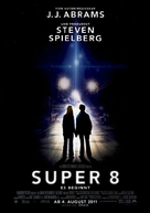 Super 8 - German Movie Poster (xs thumbnail)