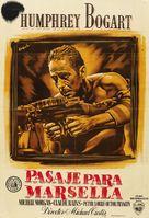 Passage to Marseille - Spanish Movie Poster (xs thumbnail)