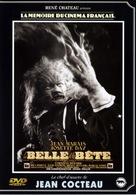 La belle et la bête - French DVD cover (xs thumbnail)