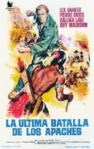 Old Shatterhand - Spanish Movie Poster (xs thumbnail)