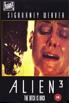Alien 3 - British VHS movie cover (xs thumbnail)