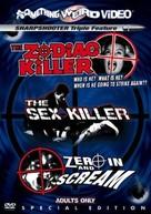 The Zodiac Killer - DVD movie cover (xs thumbnail)