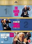 The Naked Gun - British DVD movie cover (xs thumbnail)