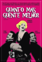 Some Like It Hot - Brazilian DVD cover (xs thumbnail)
