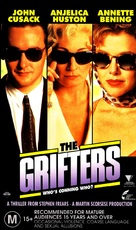 The Grifters - Australian VHS cover (xs thumbnail)