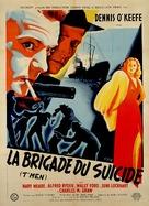 T-Men - French Movie Poster (xs thumbnail)