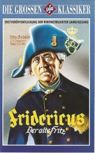Fridericus - German VHS movie cover (xs thumbnail)