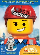 The Lego Movie - Blu-Ray movie cover (xs thumbnail)