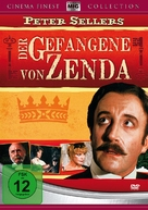 The Prisoner of Zenda - German Movie Cover (xs thumbnail)