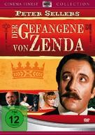 The Prisoner of Zenda - German Movie Cover (xs thumbnail)