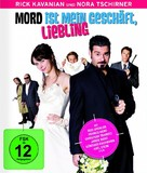 Mord ist mein Geschäft, Liebling - German Blu-Ray cover (xs thumbnail)