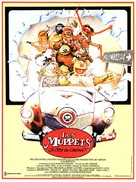 The Muppet Movie - French Movie Poster (xs thumbnail)