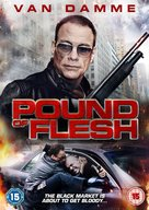 Pound of Flesh - British DVD cover (xs thumbnail)