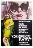 Carmen, Baby - Spanish Movie Poster (xs thumbnail)