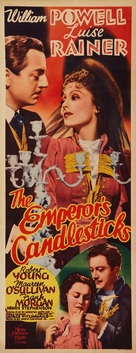 The Emperor's Candlesticks - Movie Poster (xs thumbnail)