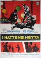 In the Heat of the Night - Swedish Movie Poster (xs thumbnail)