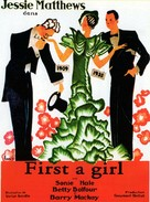 First a Girl - British Movie Poster (xs thumbnail)