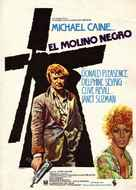 The Black Windmill - Spanish Movie Poster (xs thumbnail)