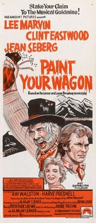 Paint Your Wagon - Australian Movie Poster (xs thumbnail)