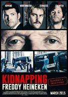 Kidnapping Mr. Heineken - Indonesian Movie Poster (xs thumbnail)