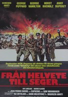 From Hell to Victory - Swedish Movie Poster (xs thumbnail)