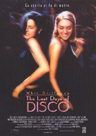 The Last Days of Disco - Italian Movie Poster (xs thumbnail)