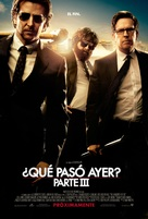 The Hangover Part III - Mexican Movie Poster (xs thumbnail)