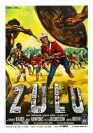 Zulu - Italian Movie Poster (xs thumbnail)