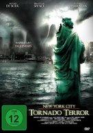 NYC: Tornado Terror - German DVD cover (xs thumbnail)