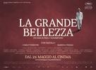La grande bellezza - Italian Movie Poster (xs thumbnail)