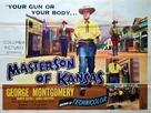 Masterson of Kansas - British Movie Poster (xs thumbnail)