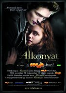 Twilight - Hungarian Movie Poster (xs thumbnail)