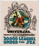 20,000 Leagues Under the Sea - Blu-Ray movie cover (xs thumbnail)