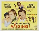 One of Our Spies Is Missing - Movie Poster (xs thumbnail)