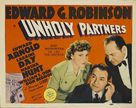Unholy Partners - Movie Poster (xs thumbnail)