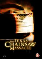 The Texas Chainsaw Massacre - British DVD movie cover (xs thumbnail)