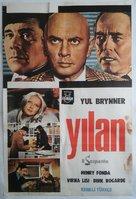 Le serpent - Turkish Movie Poster (xs thumbnail)