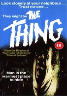The Thing - British Movie Cover (xs thumbnail)