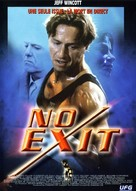 No Exit - French DVD movie cover (xs thumbnail)